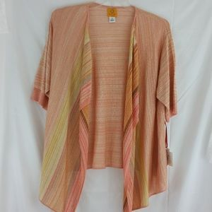 """Ruby Rd """"Mohave"""" Shrug     Size 2X"""